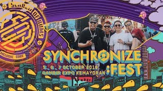 Scared of Bums Live di Synchronize Festival 7 Oktober 2018