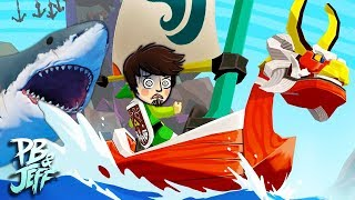 WIND WAKER TIME! | Raft Co-op Gameplay (Part 2)