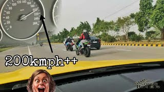 CHASING SUPERBIKES on BMW M3