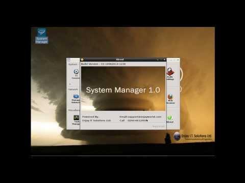 Enjay Thin Client software  Walkthrough (Tornado OS)