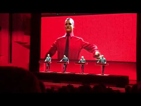 Kraftwerk - The Robots (LIVE @ Finlandia-talo, Helsinki 15.2.2018)