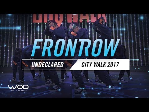 Undeclared | FrontRow | World of Dance Live 2017 | #WODLive17
