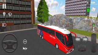 Simulator सार्वजनिक परिवहन सिम्युलेटर में वोल्वो बस ड्राइविंग - कोच - # 40 Android गेमप्ले | नई बस खेलों 📲 screenshot 4