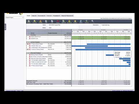 e-Builder: Effectively Plan Your Construction Program