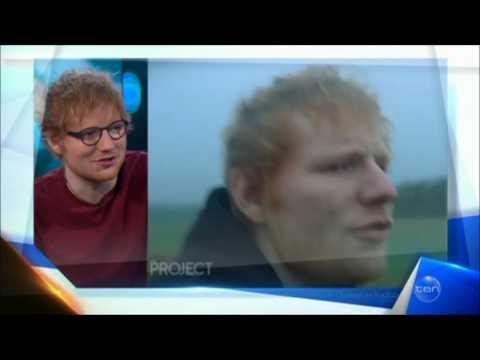 "Ed Sheeran ""Paparazzi Pervs"" LIVE Australian Tv Interview February 6, 2017"