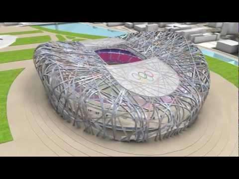Beijing stadium - Bird's nest