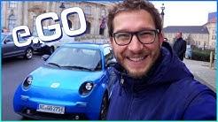 e.GO Life Probefahrt mit Günther Schuh