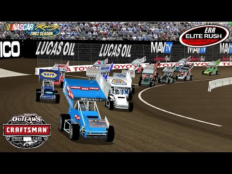 NR2003 - ERR League Race - World Of Outlaws - Tulsa Expo Center