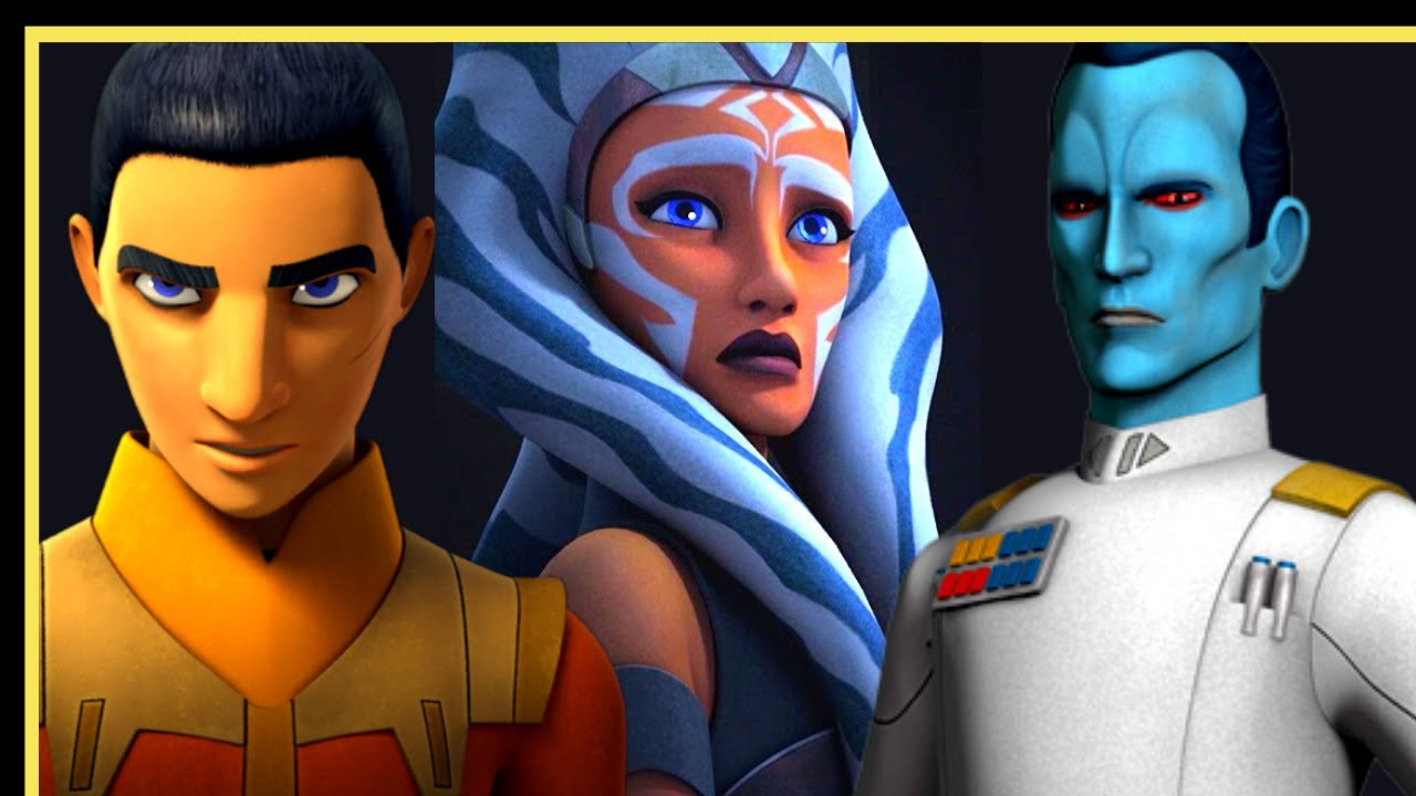 All Evidence - Ahsoka Ezra Thrawn & Boba Fett - The Star Wars Connected Universe in Live Action