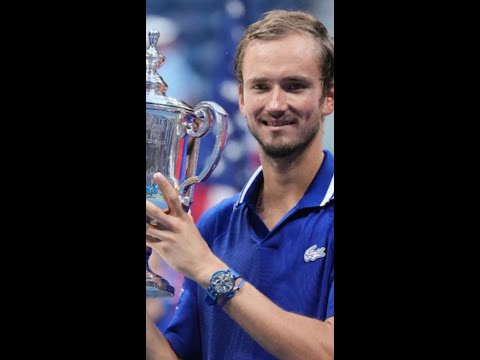 Daniil Medvedev Road to The US OPEN Title 2021 🔥😱 #Shorts
