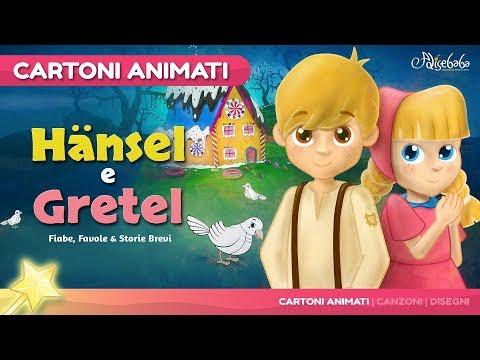Hänsel e Gretel storie per bambini   cartoni animati Italiano   Storie della buonanotte