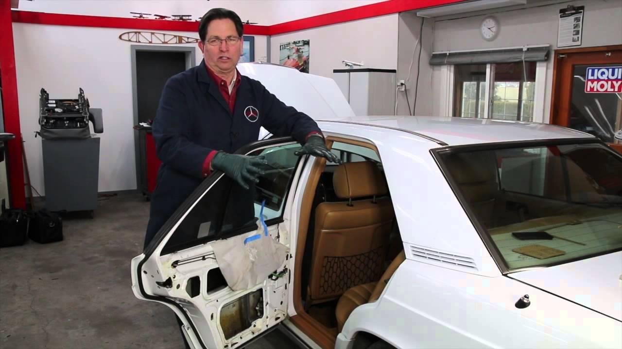 A Good Reason To Remove Your Older Mercedes Door Panels