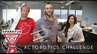 SparkFun Robotics 101 -  Actobotics Challenge!