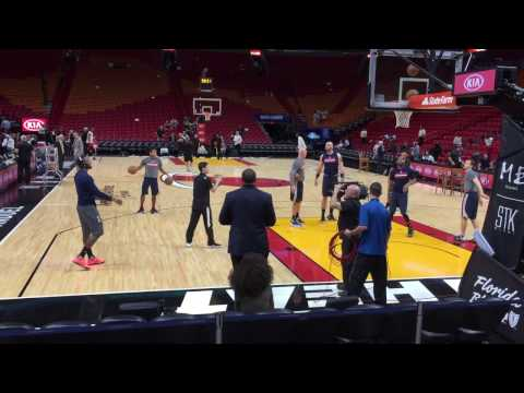 NBA Pre-Game at American Airlines Arena