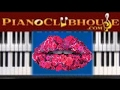 """🎹 How to play """"BAD THINGS"""" by Machine Gun Kelly ft. Camila Cabello (easy piano tutorial lesson)"""