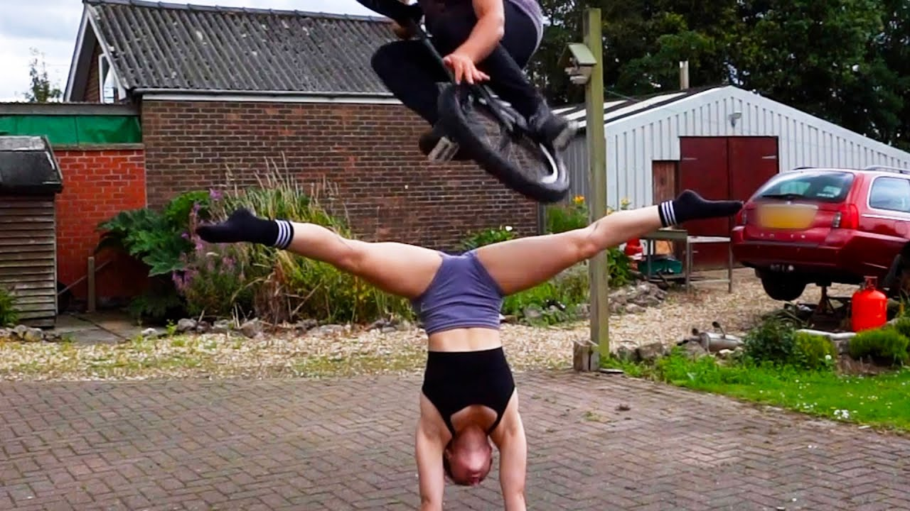 Man Jumps Over Woman With Unicycle | Best Of The Week
