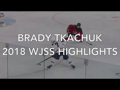 Brady Tkachuk 2018 WJSS Highlights