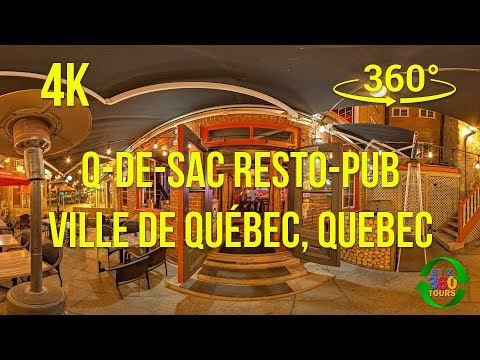 Q De Sac Resto Pub Virtual Reality VR Video (4K)