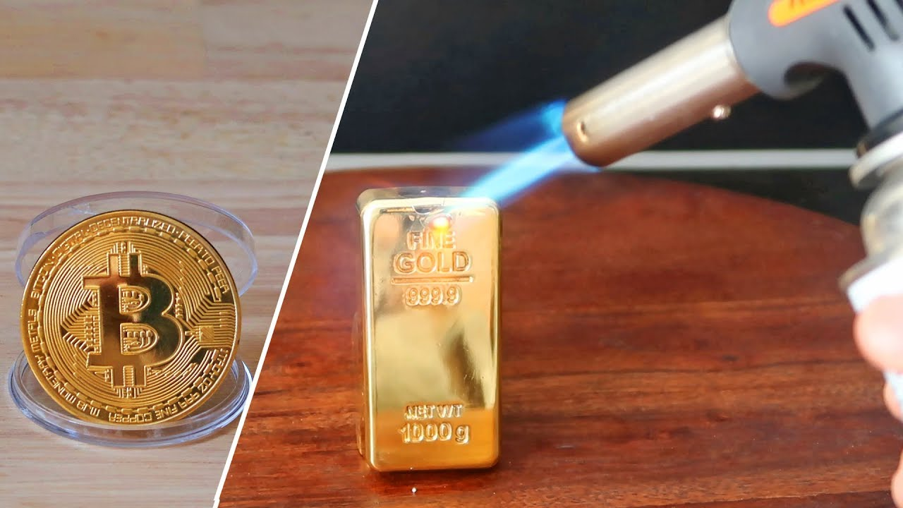 Gas Torch Vs Real Gold Bar Bitcoin