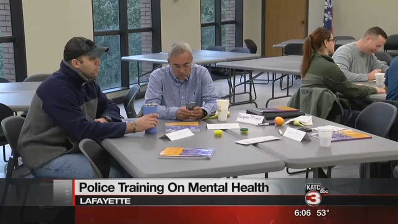 Police Officers Receive Mental Health Training Youtube
