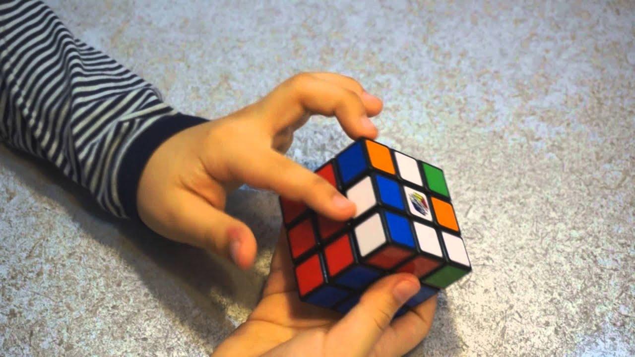 схема собирания кубика рубика на youtube