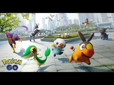 The world of Pokémon GO expands with Pokémon originally discovered in the Unova region!