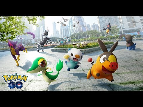 Pokemon Go welcomes the Unova region today