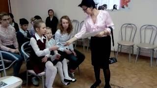 Открытый урок о лесе в реабилитационном Центре для несовершеннолетних  г. Владимир