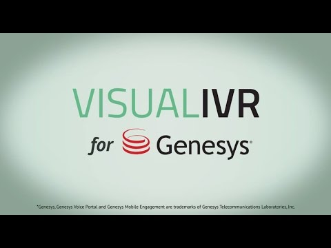 Visual IVR for Genesys