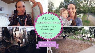 UrlaubsVLOG |Höhlen- und Gestütsbesichtigung mit Baby |Postojna & Lipica |Kathis Daily Life