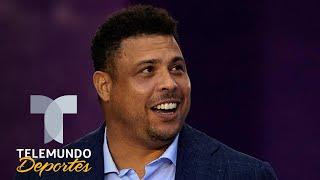 Ronaldo Nazario revela el nombre del defensa que más le pegó | Telemundo Deportes