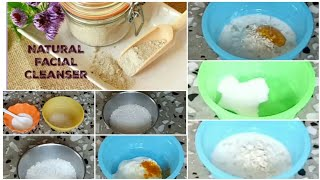 DIY home made cleansers for healthy and glowing skin...