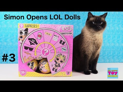 LOL Surprise With Simon Series 3 Wave 2 Full Box Opening #3 | PSToyReviews