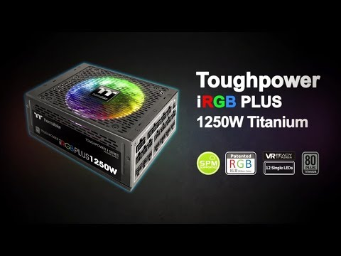 Thermaltake Toughower iRGB PLUS 1250W Titanium - TT Premium Edition