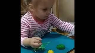 Уроки на кухне   Цветные ёжики  Урок №10