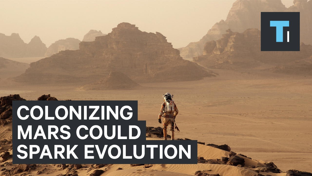 How colonizing Mars could spark new kind of human evolution