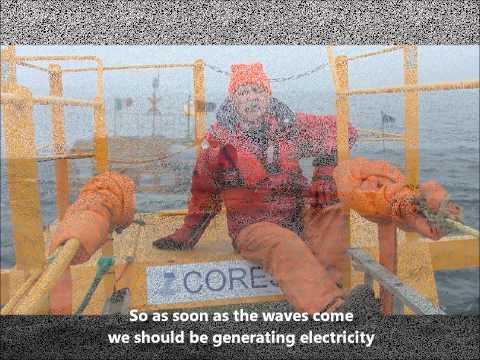 Ocean Wave Energy Sea trial FP7 CORES Galway 2011 - HMRC