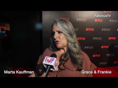 Marta Kauffman on 'Grace and Frankie'  Netflix FYSEE Comedy