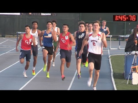 TF - CIF-ss Masters  - Men&39;s 800 Meters
