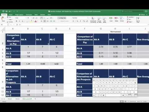 6 passos para o método Analytic Hierarchy Process (AHP) Smart Consultoria Jr.из YouTube · Длительность: 2 мин7 с
