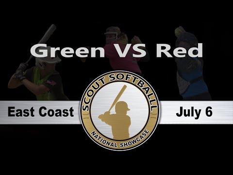 2016 Scout Softball East Coast National Showcase - Green VS Red