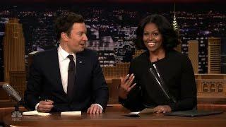 Michelle Obama, Fallon write thank you notes