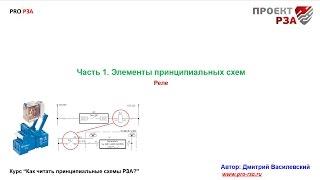 Элементы вторичной схемы РЗА. Реле