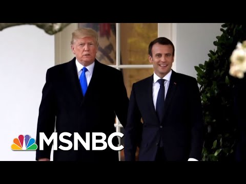 Emmanuel Macron Hoping To Change President Trump's Mind On Iran Deal | The 11th Hour | MSNBC