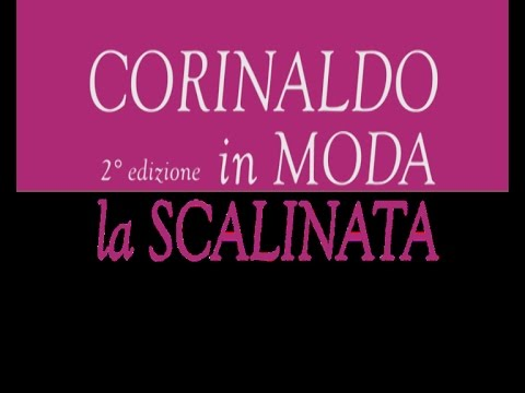 """Corinaldo in moda 2014  """"La scalinata"""""""