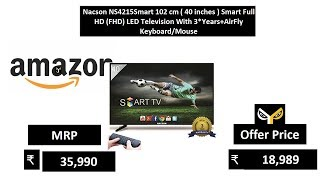 Nacson NS4215Smart 102 cm 40 inches Smart Full HD FHD LED Television