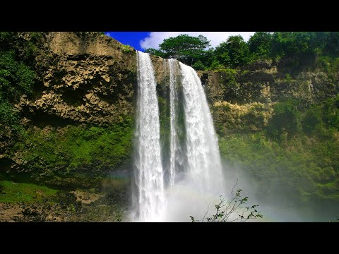 hawaii-waterfall-sounds-white-noise-for-sleep,-studying