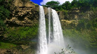 Hawaii Waterfall Sounds White Noise for Sleep, Studying