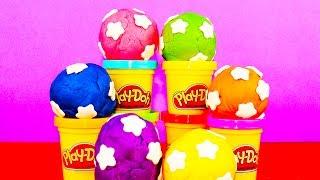 Play Doh Surprise Toys incl Pokemon Batman Thomas Star Wars R2D2 Trash Pack Angry Birds Kinder Surpr