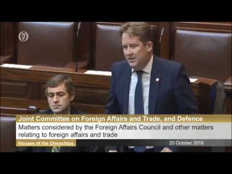 Joint Committee on Foreign Affairs & Trade- Syria & Brexit